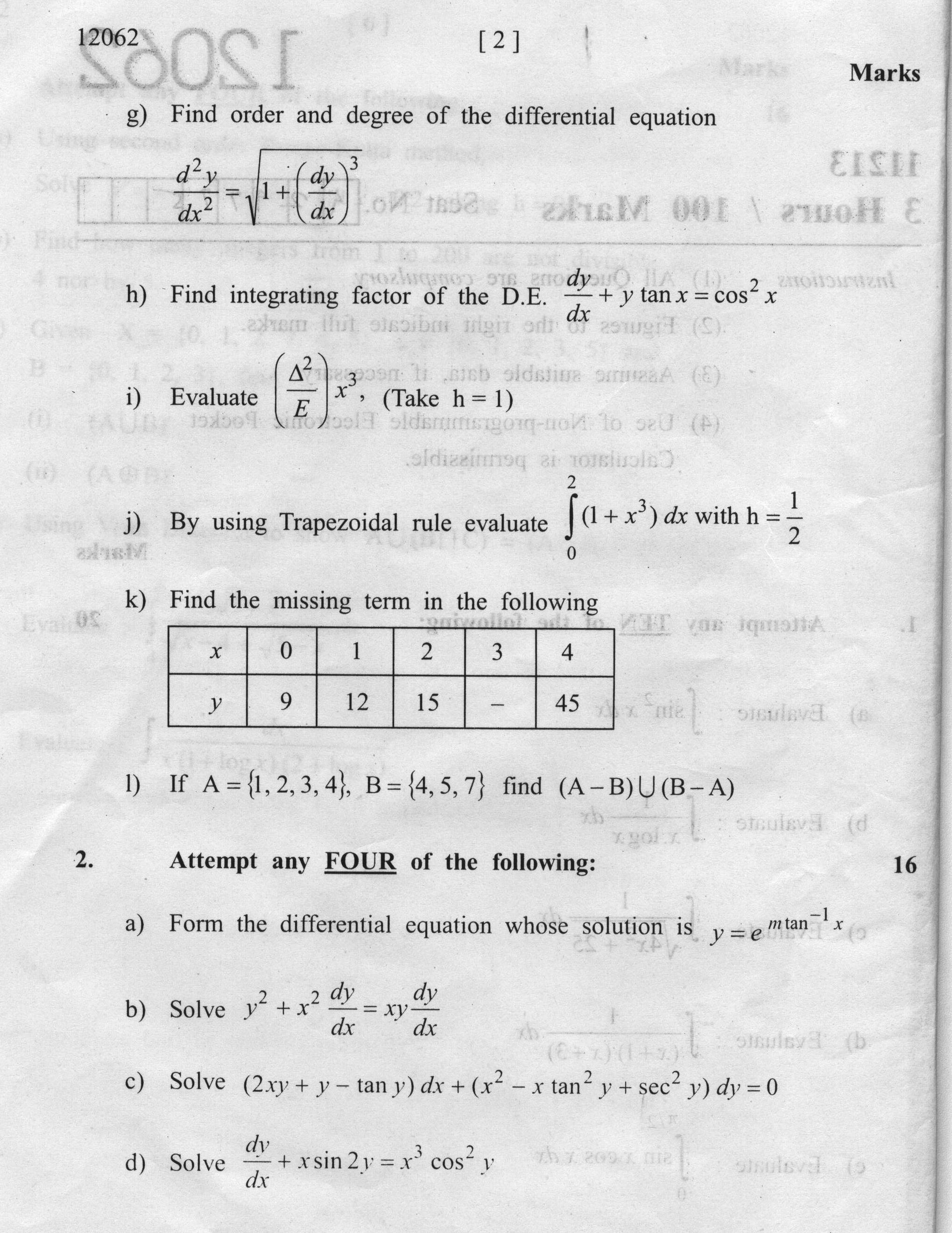 Contemporary Applied Math Questions Embellishment - Math Worksheets ...
