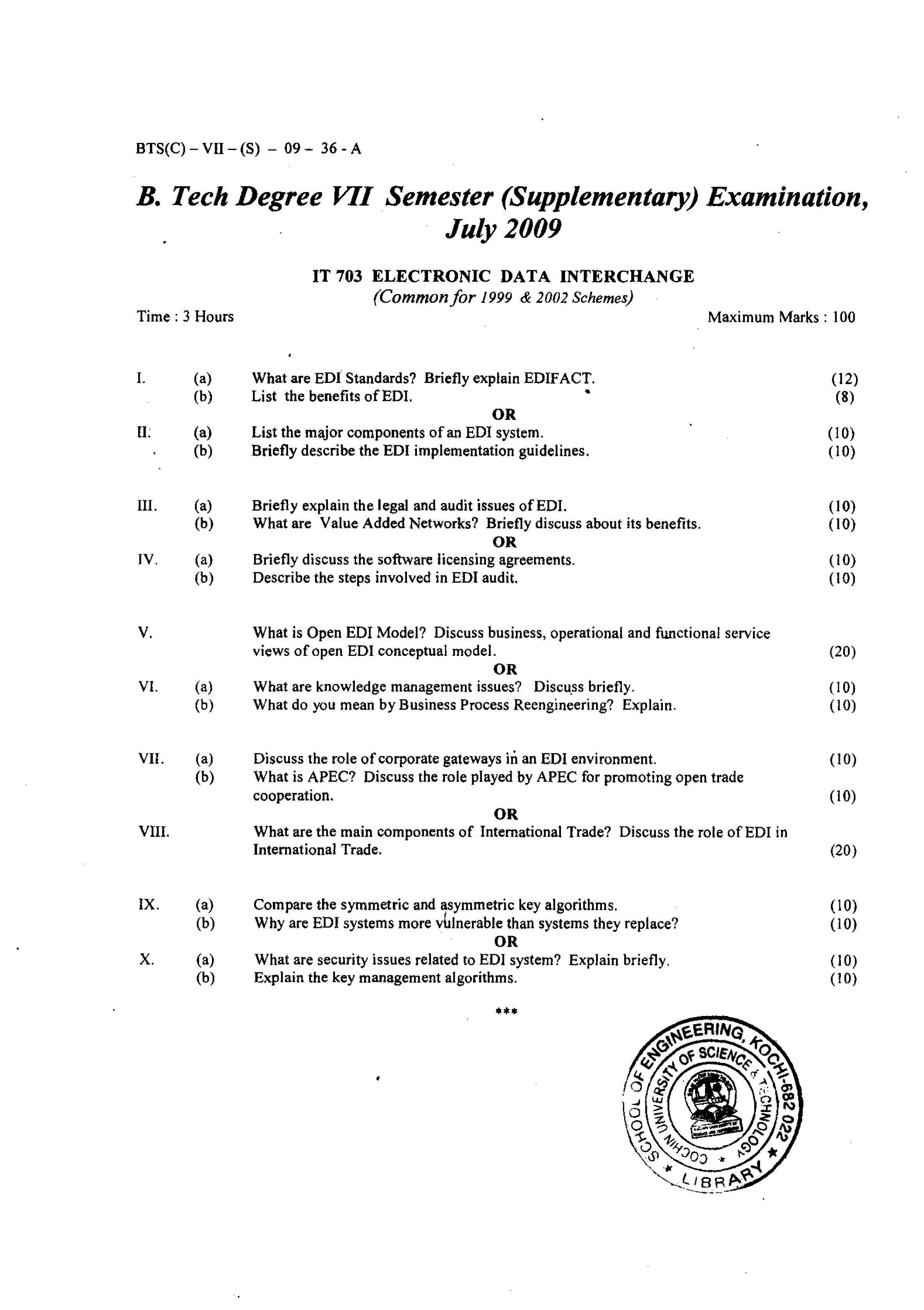 electronic data interchange information technology essay Business value of information technology: a study of electronic data  interchange mis quarterly vol19, iss 9: pg 137-156, , retrieved september 12,  2006.