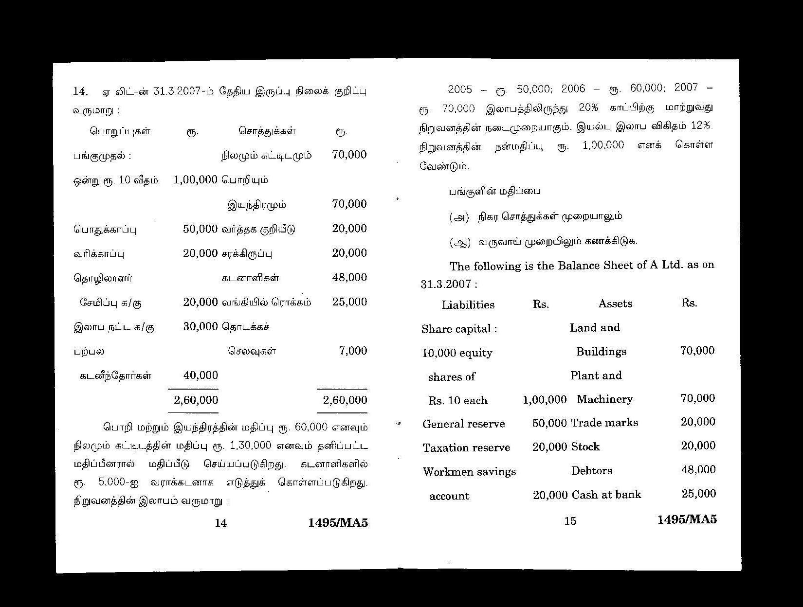 Accounting Jobs In Madurai