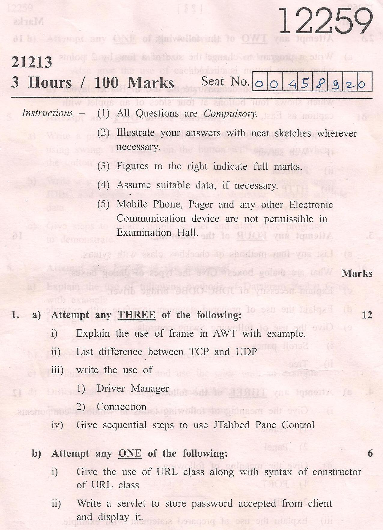 Computer Programming model term paper