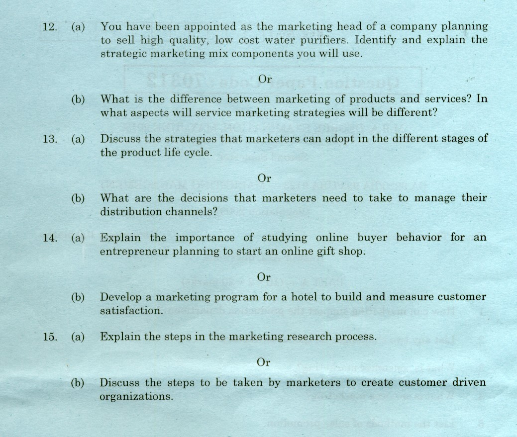 marketing management paper 1faculty of science and technology, meiji university this paper considers a real application of marketing management is looking and interesting on the.