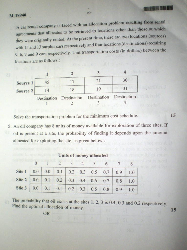 operations research papers By separating models and methods in a formal way, those whose main interests do not lie in the mathematics of operations research can study the modeling material without intimidation for those who have the motivation or need to understand the mathematics, a simple but rigorous development of or methods is provided.