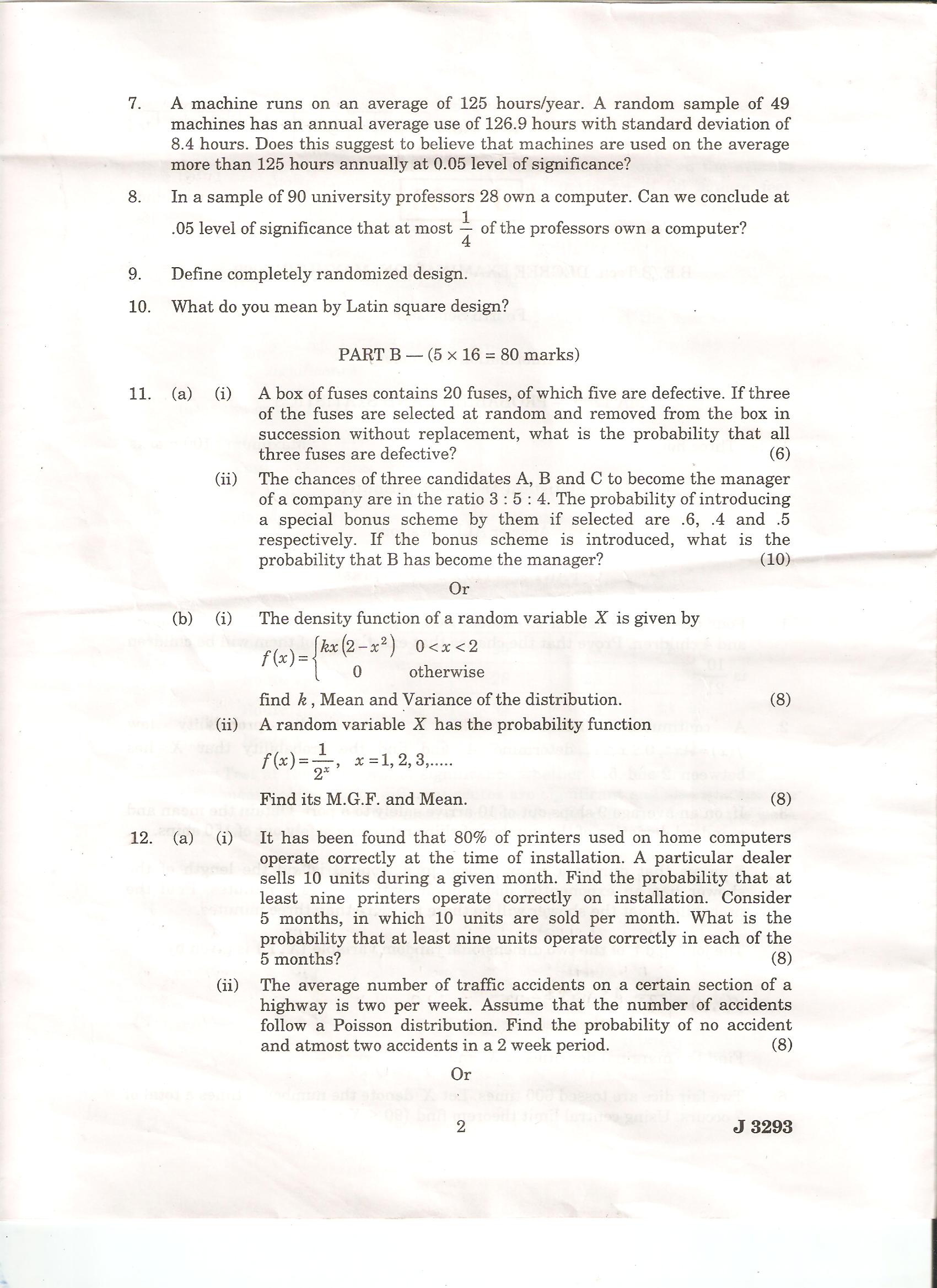 total quality management question papers-2010 Download vtu total quality management of 7th semester mechanical  engineering with subject code 10me758 2010 scheme question papers.