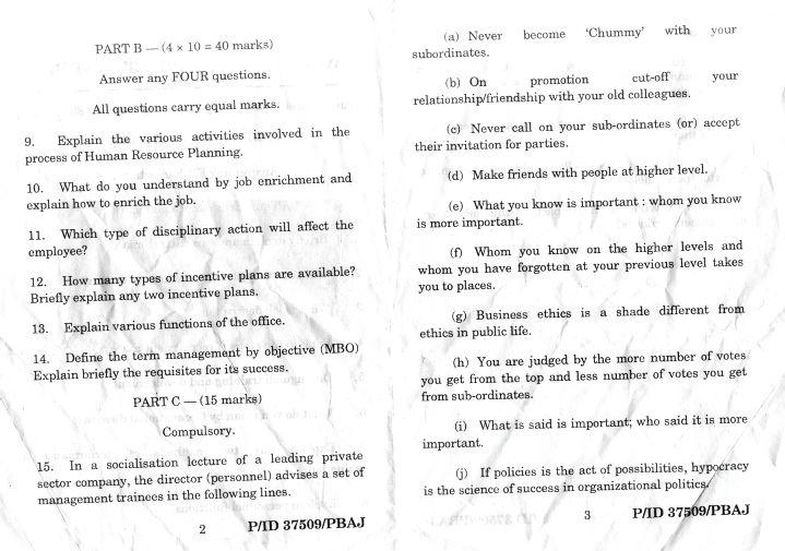 Hrm exam paper Homework Sample