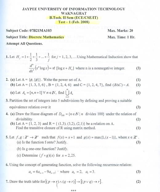 discrete math quiz essay example Essay writing prompts examples of essays free essay how to some mathematics research paper topics the custom essay the discrete mathematics that deals.