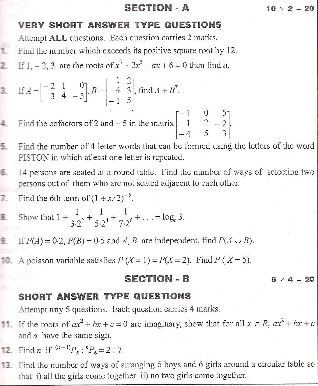 math2a syllabus