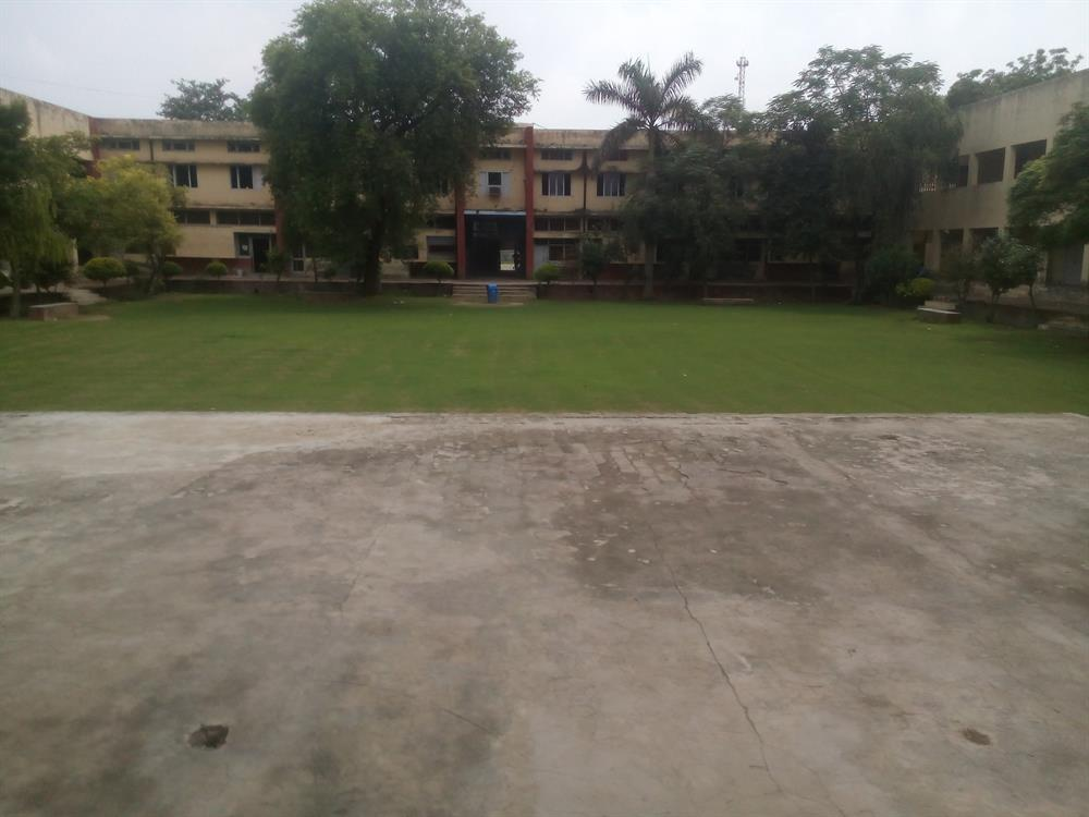 Science Block and Inner ground.