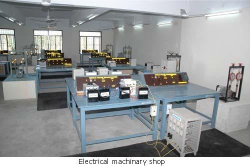 Electrical machinery shop