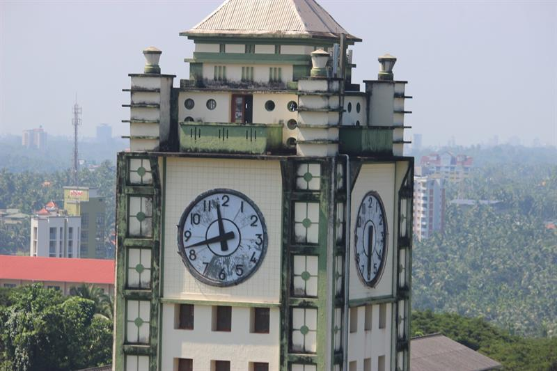 clock tower, a closer look