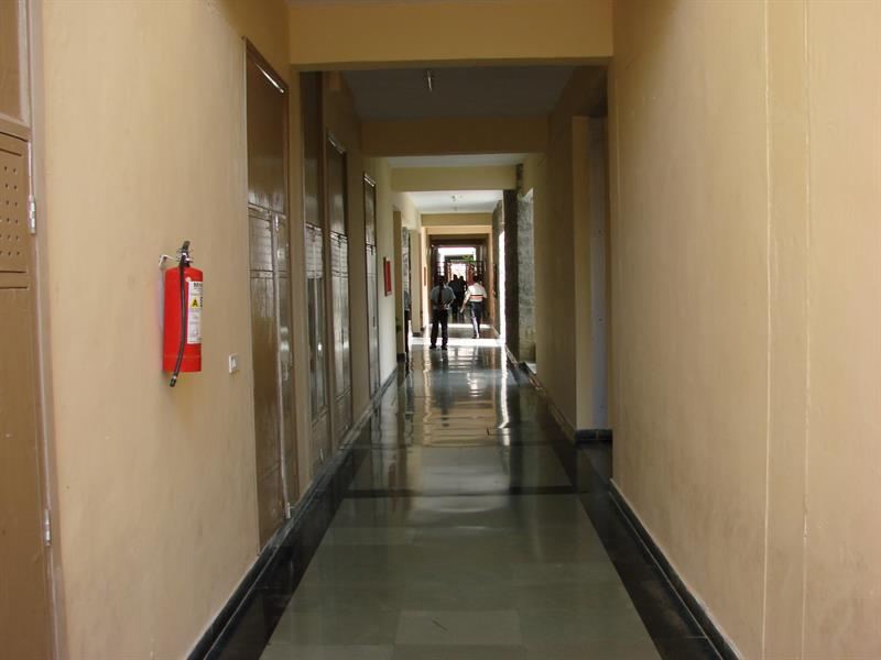 corridor between A-wing and B-wing