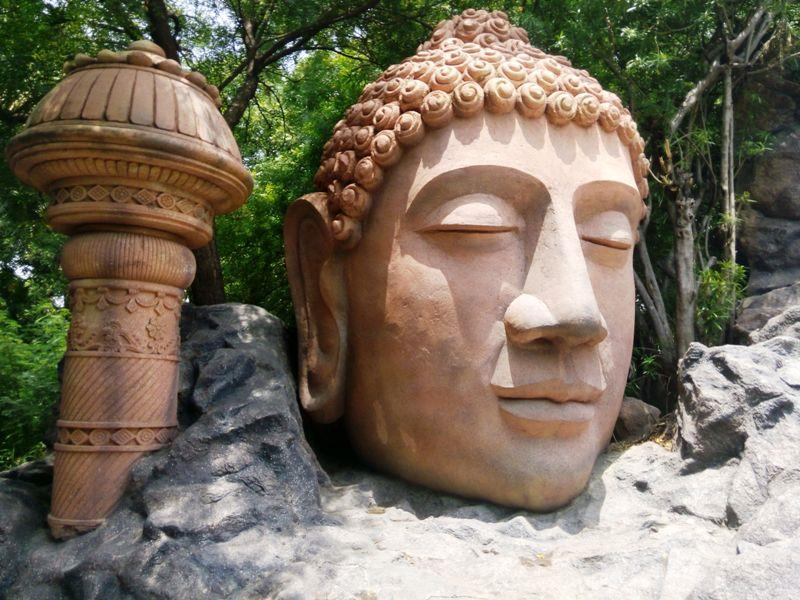 Kripalu caves on Buddhism at Ramoji Film City, Hyderabad