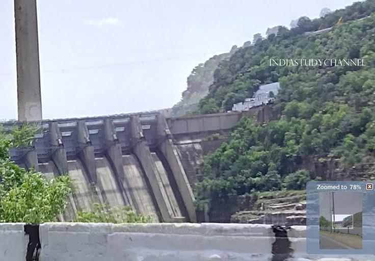 Roadside view of Srisailam Dam, srisailam, Kurnool District, A.P.