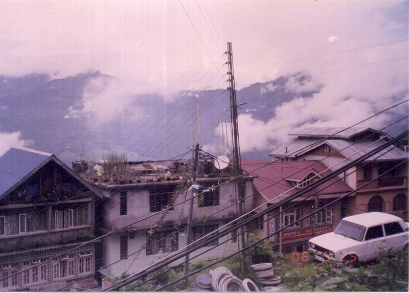 Local view of Darjeeling