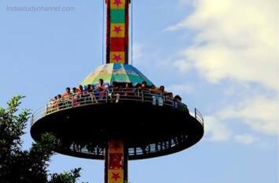 One of the ride in lumbini park, hyderabad