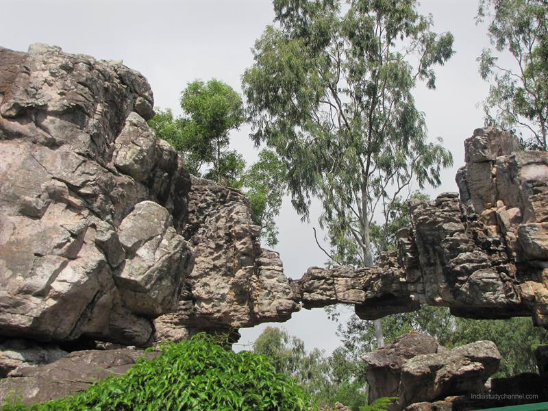 Silathoranam - Natural arch of rock, Tirupathi