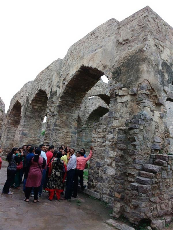 Tourism of Golconda Fort, Hyderabad