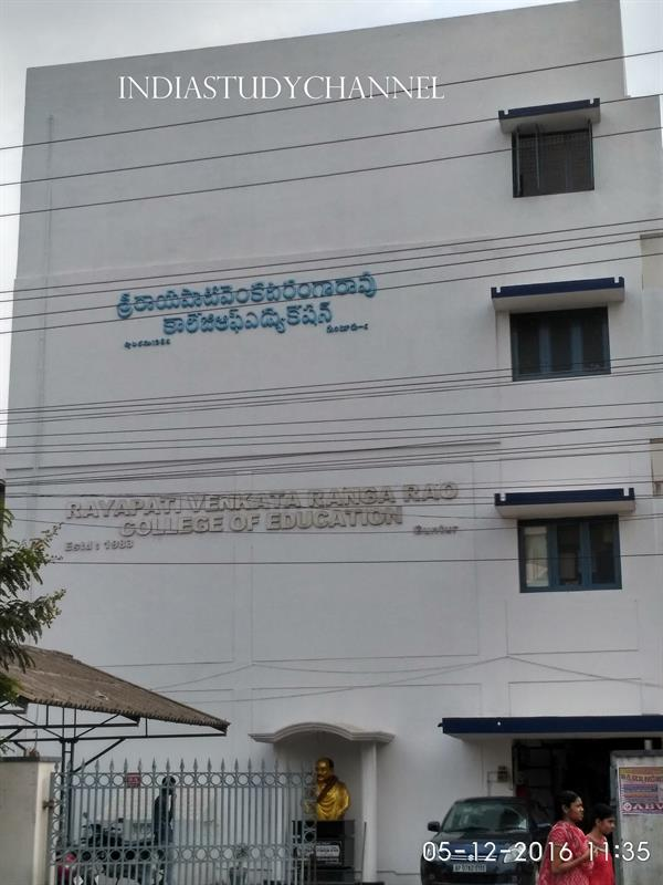 DR. Rayapati Venkata Ranga Rao College of Education, JkC College Road, Guntur, A.P.