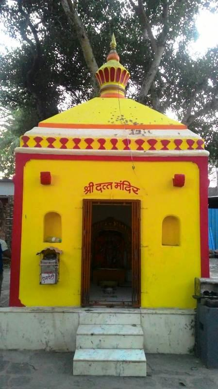 Datta Mandir in the premises of Sangameshwar Mandir at Haripur