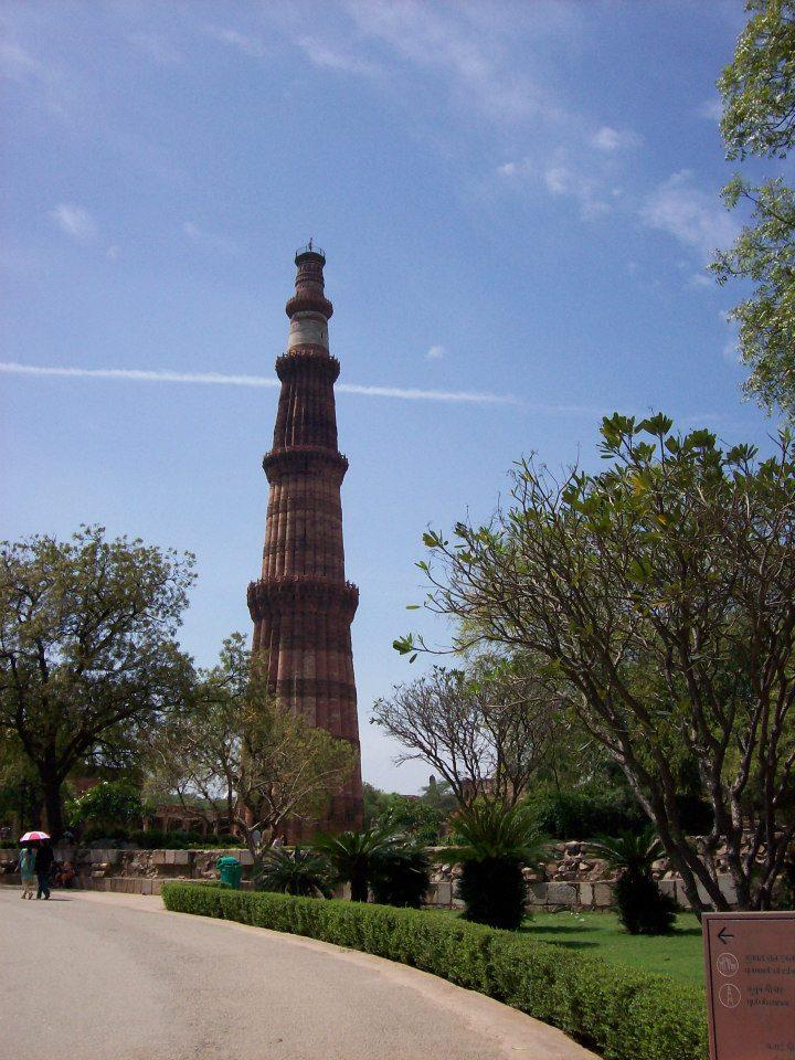 Quatb Minar at Mehrauli