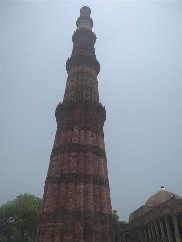 Qutub Minar, a UNESCO World Heritage Site.
