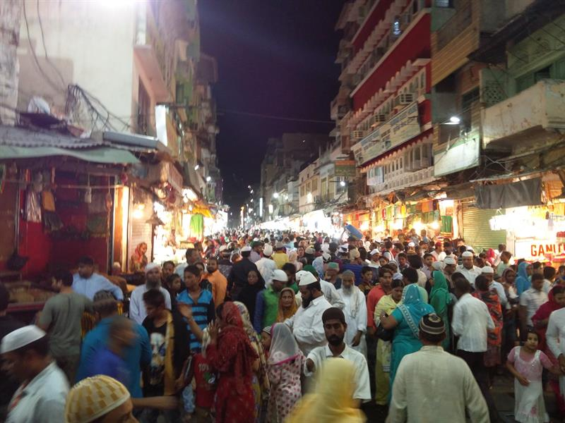 Chandni Chowk bazaar in New Delhi