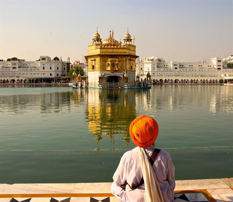Amritsar - at the Golden Temple
