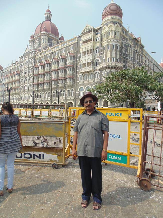 Taj Mahal Palace Hotel (Taj Hotel) near Gate way of India, Mumbai