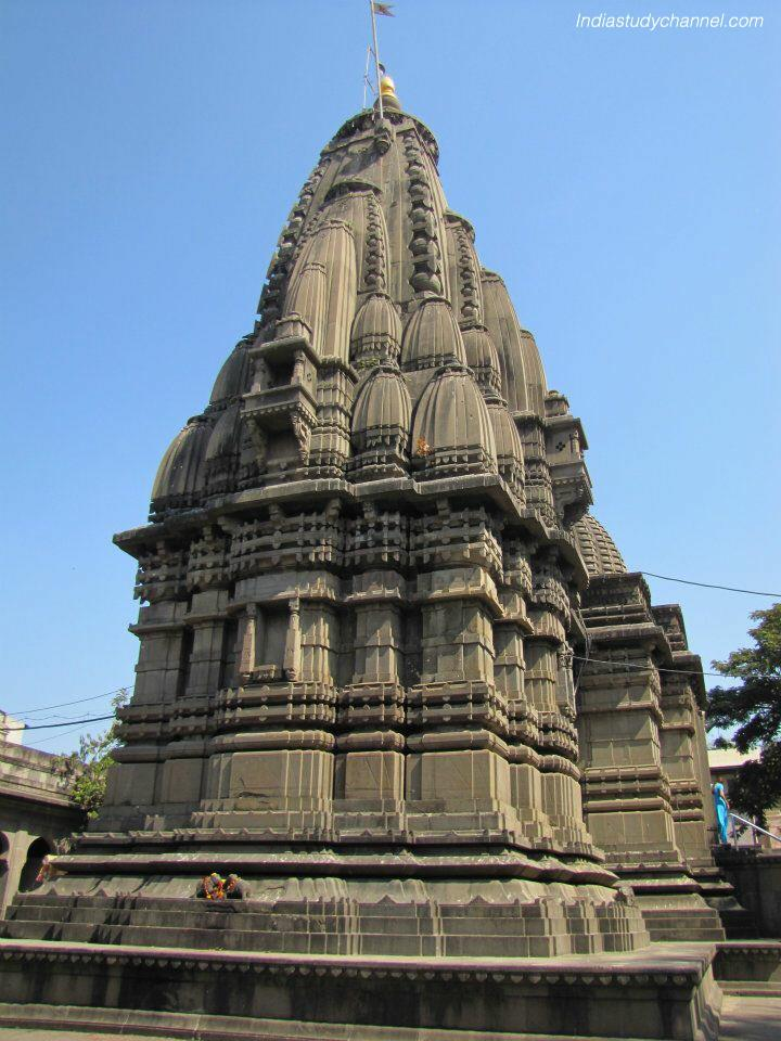 Back view of Kala ram mandir, Panchavati