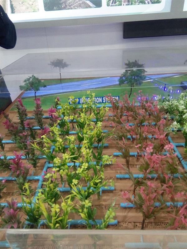 Irrigation System Model Shows in  -2017 IITF