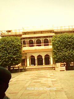 The outlook of City Palace,Jaipur