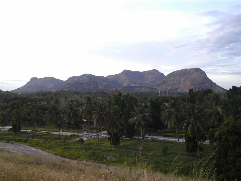 A view from Amaravathi Dam