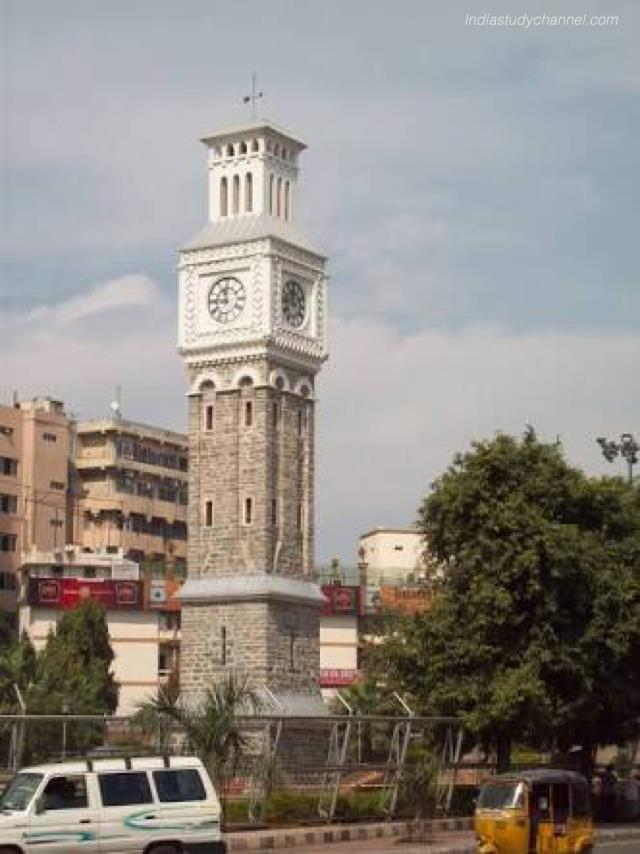 Photo of clock tower in secunderabad