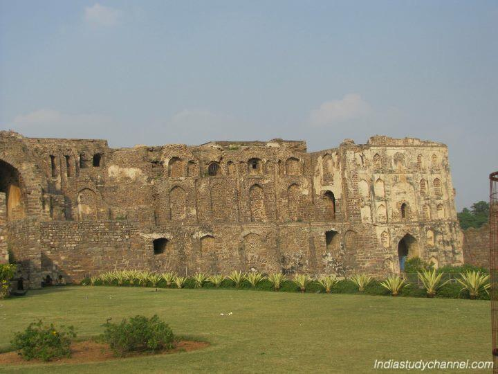 Golconda fort inside view