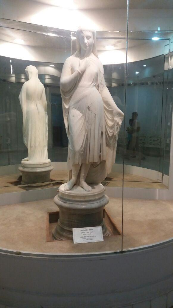 Marble Rebecca Sculpture as seen in Salar Jung Museum, Hyderabad