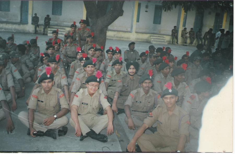 NCC Cadets during Training