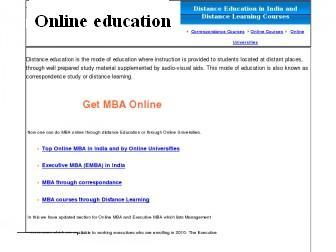 Condition of online Education in India