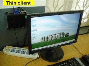 Thin clients in computer lab