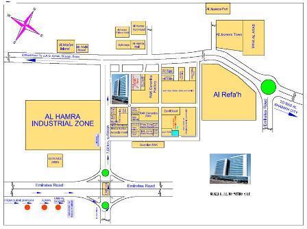 IIM Indore-GEM UAE Campus location map