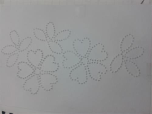 Stitch Card Pricking Pattern