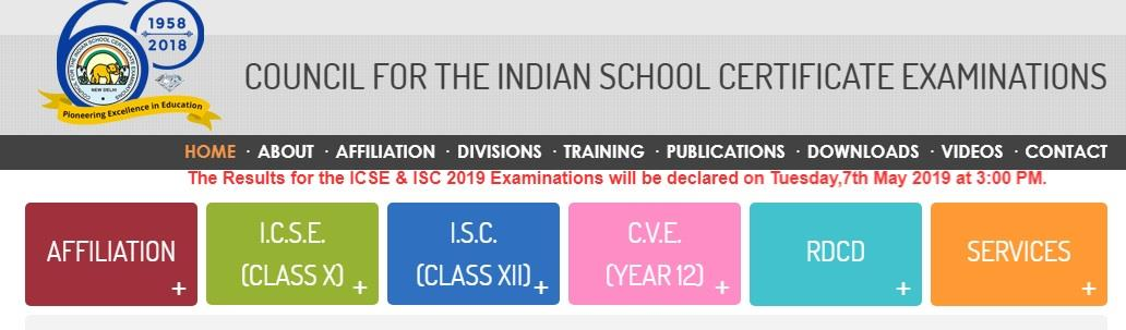 ICSE and ISC exam results 2019