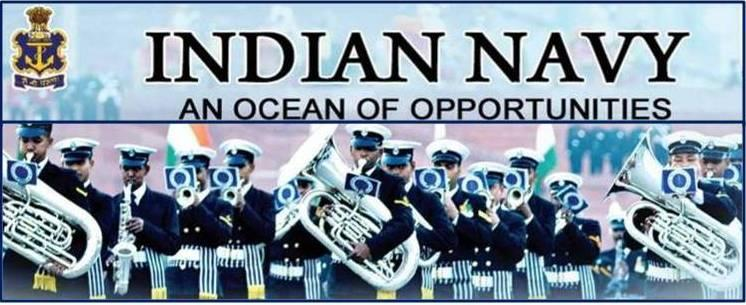Indian Navy Band Banner