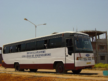 Transport service of Dhanalakshmi College of Engineering