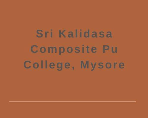 Sri Kalidasa Composite Pu College