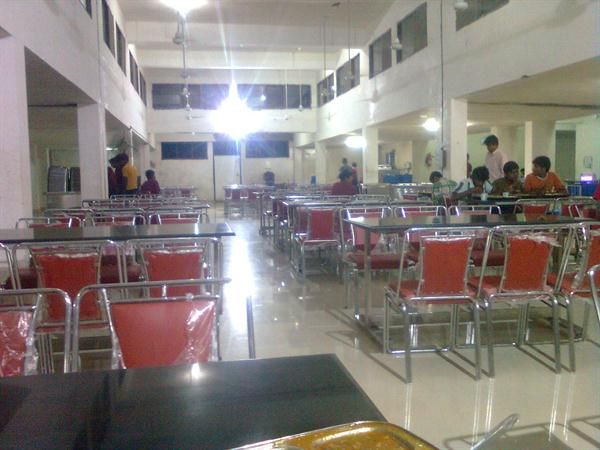 Hostel mess of Lovely Professional University
