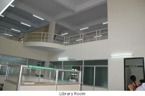 Library of Asan Memorial College of Engineering & Technology