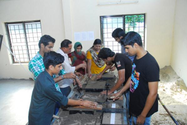 Mechanical workshop of College of Engineering And Technology, Payyanur