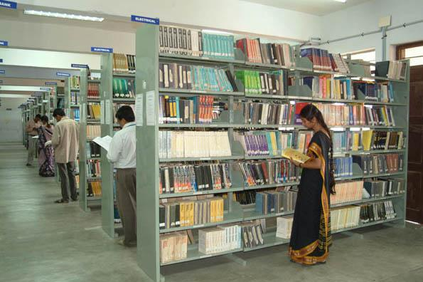 Library of Adhiyamaan College of Engineering