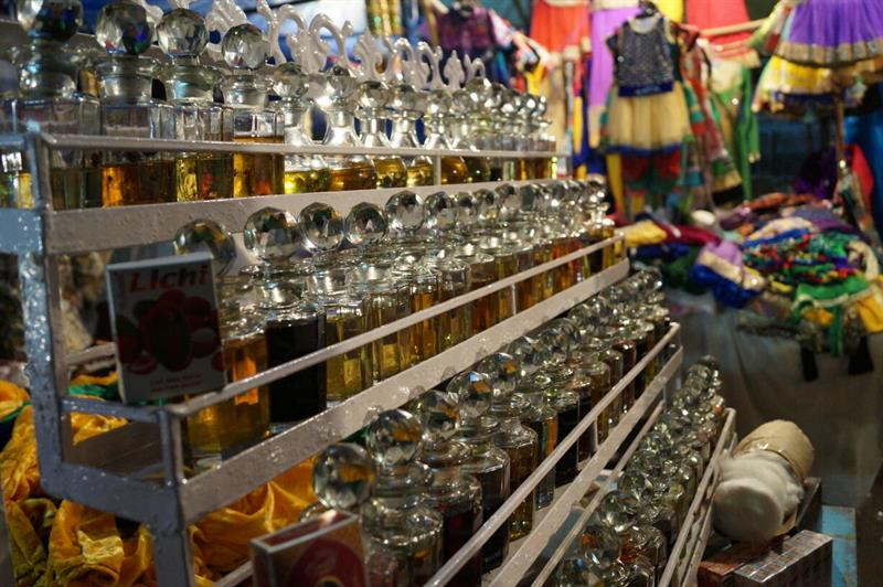 Perfume market at charminar,Hyderabad