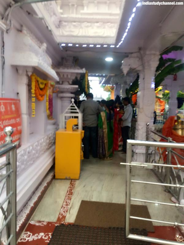 Photo taken inside Ashta Lakshmi temple, Vasavi colony