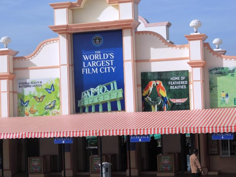 Worlds Largest Film City Ramoji Film City Hyderabad